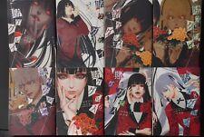 JAPAN Homura Kawamoto,Toru Naomura manga LOT: Kakegurui Compulsive Gambler 1~8