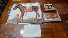 ANTIQUE VINTAGE PIN THE TAIL ON THE DONKEY PARTY GAME 1930s
