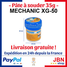 Mechanic XG-50 Solder Paste Pâte à braser 35g soudure étamer pot pate aide flux