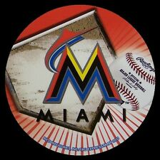 Window Bumper Sticker MLB Baseball Miami Marlins NEW