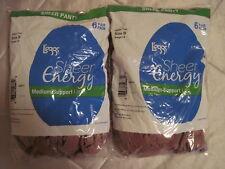 12 Pair L'eggs Leggs Sheer Energy Sheer to Waist / Sheer Toe Beige Pantyhose B