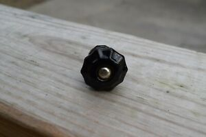 Antique Black Glass Pull Cabinet Drawer Pull Knob