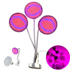 E27 200 Led plant Grow Light Lamp bulbs Flexible Desk Holder Clip  Flower Indoor