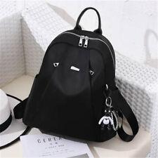 New Korean Fashion Oxford School Bag Handbag Shoulder Bag Black Bookbag Backpack