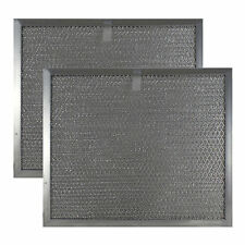 Whirlpool 8190259 Compatible Mesh Grease Filter 9-7/8 x 11-11/16 x 3/8 (2 Pack)