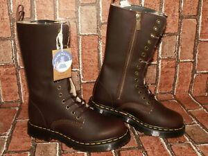 Dr. Martens 1914 KOLBERT TALL wintergrip leather boots uk 5 eu 38 us 7 Doc#163