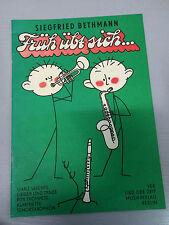 Früh übt sich Trompete Klarinette Tenorsaxophon