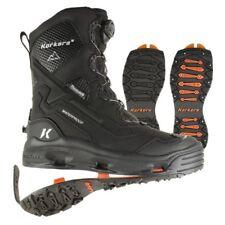 Korkers Polar Vortex 600 Interchangeable Soles Black Studded Winter Snow Boot 9
