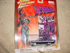 JOHNNY LIGHTNING MARVEL X-MEN '59 DESOTO CHASE CAR RUBBER TIRES FREE USA SHIP