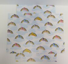Patterned Unicorn Rainbow Quality Card A4 1-Sided 300gsm x 8 for Cardmaking Arts