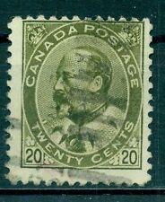 Gestempelte Briefmarken aus Kanada