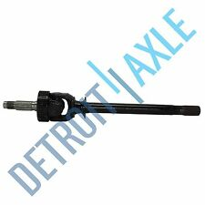 New Complete Front Driver Side Jeep CHEROKEE Axle Shaft - U JOINT Style - 4x4