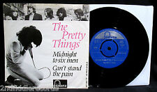 THE PRETTY THINGS-Can't Stand The Pain-Picture Sleeve+45-FONTANA *Holland Import