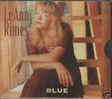 Blue [US CD Single] by LeAnn Rimes (CD, May-1996, Curb) The Light In Your Eyes