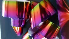 Amazon 1m Shardee nail art transfer foils Ombre Metallic blend purple pink