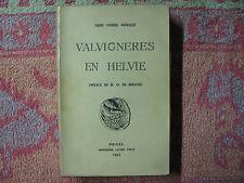 abbé Pierre Arnaud : Valvignères en Helvie 1963