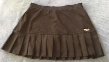 Fila Tennis Skirt Womens Black Size M Pre Owned