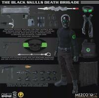 Mezco Toyz One:12 Collective Black Skulls Death Brigade