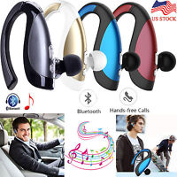 Bluetooth Headset Wireless Stereo Earphone Earbud For Cell Phone PC PS3 US Ship