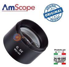 Barlow Lente 0.5X ausiliaria per Microscopio Binoculare AmScope 48mm WD165