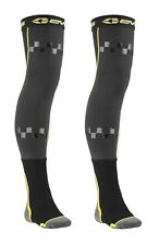 New Pair Of SM/MD Size EVS Fusion Socks/Knee Brace Sleeves Combo For Off-Road/MX