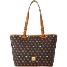 Dooney & Bourke Gretta Hearts Small Leisure Shopper - Brown Tmoro (BGRHT2352BMNA)