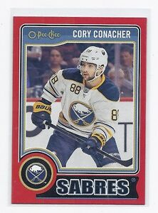 14-15 2014-15 O-PEE-CHEE CORY CONACHER RED PACK REDEMPTION 125 BUFFALO SABRES