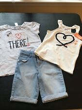 Gymboree 3 Pc Sailing Lot, Excellent Condition/Nwt, Size 8