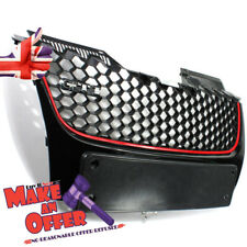 Grille For VW Mk5 Golf GTI Gt Sport GTI Badge Front Bumper Grill Replacement