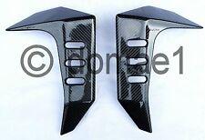 Kawasaki Z1000 carbon fiber radiator covers 2003-2006 fairings protectors 1 pair