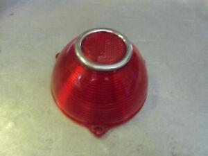 Vintage NOS 1954 PONTIAC GUIDE TAIL LIGHT LENS OEM R2-54 #5945163