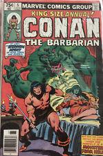 Conan the Barbarian Annual #5 1979  Wedding Conan & Zenobia: