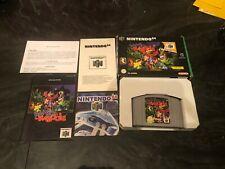 Nintendo 64 N64 Video Game Complete Box PAL VERSION Banjo Kazooie Cartridge CIB