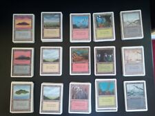 Mtg Unlimited basic land Set