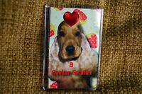 Cocker Spaniel Dog Gift Dog Fridge Magnet 77x51mm Birthday Gift Mothers Day Gift