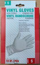 Einweg Einmal Handschuhe Vinyl Latex Nitril puderfrei S Weiß