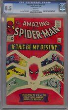 AMAZING SPIDER-MAN #31 CGC 8.5 1ST GWEN STACY HARRY OSBORN HTF WHITE PAGES!!
