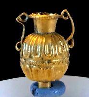 ANCIENT ROMAN GOLD AMPHORA - 100 B.C. - 100 A.D. - CHOICE ITEM!