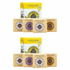 2 Set 8 PCS L'Occitane Shea Butter Gentle Soap Quartet Milk Lavender #16240_2