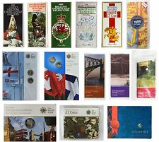 More details for £1 one pound brilliant uncirculated coin packs / presentation packs