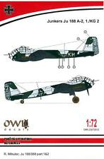 Owl Decals 1/72 JUNKERS Ju-188A-2 Night Fighter 1./KG.2