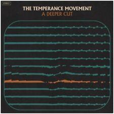 El movimiento de la templanza-un corte más profundo-Nuevo Negro Vinilo Lp