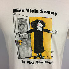 Super Rare Vtg 80s 90s Viola Swamp Miss Nelson Book James Marshall Art T Shirt