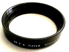 Tiffen 60 F 8 adapter ring to use series VIII drop-in filter on Leica Leitz Lens