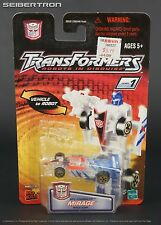 MIRAGE Transformers Robots In Disguise RID Spychangers Clear 2002 New