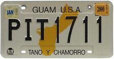 Auténtica matrícula Isla desde GUAM- TANO Y CHAMORRO - EE.UU