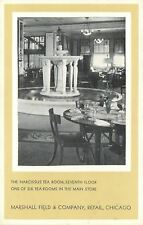 Chicago IL~Marshall Field Department Store Interior~Narcissus Tea Room~1940s