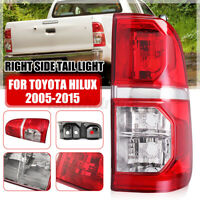 Right RH SideTail Light Brake Lamp Replacement Red For Toyota Hilu