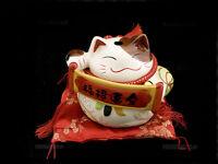 Manekineko Hucha Gato Amuleto de la Suerte Japón Maneki Neko 7016