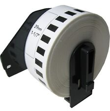 (20 Rols) DK-2210 Brother Compatible Labels. Premium Permanent Core. DK2210